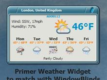 Primer Weather Widget