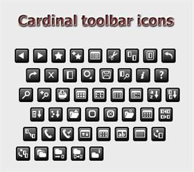 Cardinal Toolbar Icons