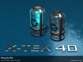 K-TEK 4D Recycle Bin