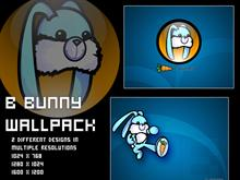 B Bunny Wallpack