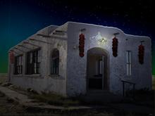 New Mexico School House
