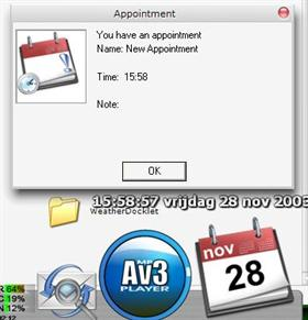 Calendar Docklet 3.4
