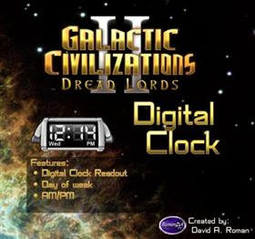 GalCiv II Digital Clock