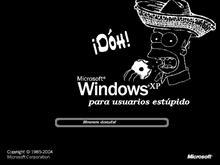 WindXP para estupidos / Homer Simpson
