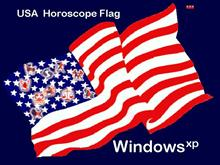 USA Horoscope Flag