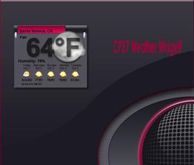 CP37 Desktop Weather