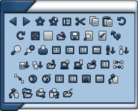 Alloys Toolbar Icons