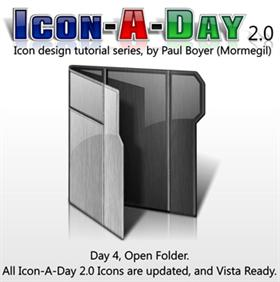 Icon-A-Day 2.0, Day 4, Open Folder