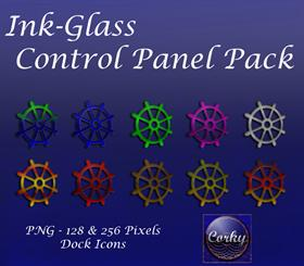 Ink-Glass Control Panel Pack