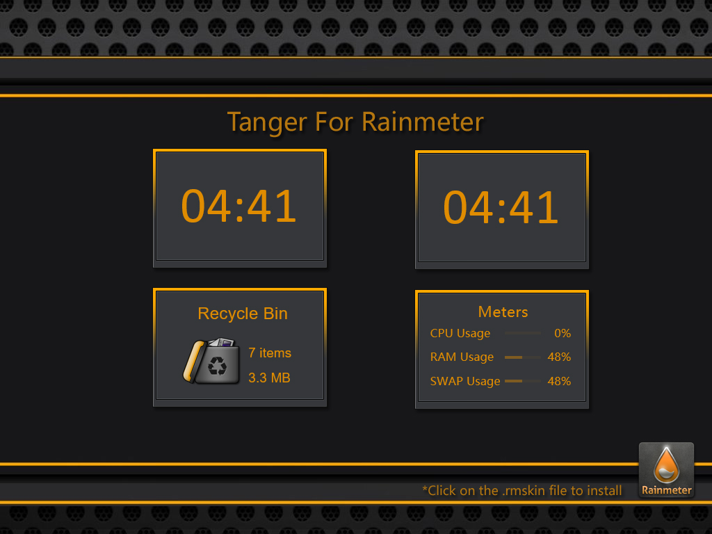 Tanger for Rainmeter