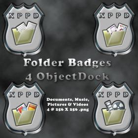 My Folder Badges
