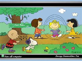 Snoopy Summertime Fun