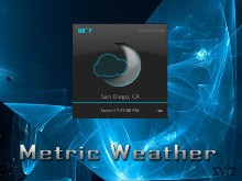 Metric Weather