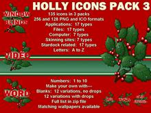 Holly Icons Pack 3