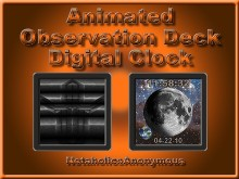 Observation Deck Digital Clock