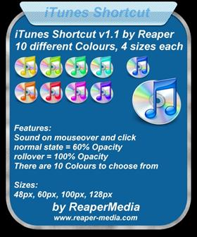 iTunes Shortcut v1.1