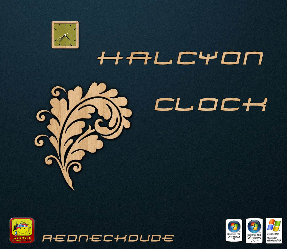 Halcyon Clock Object