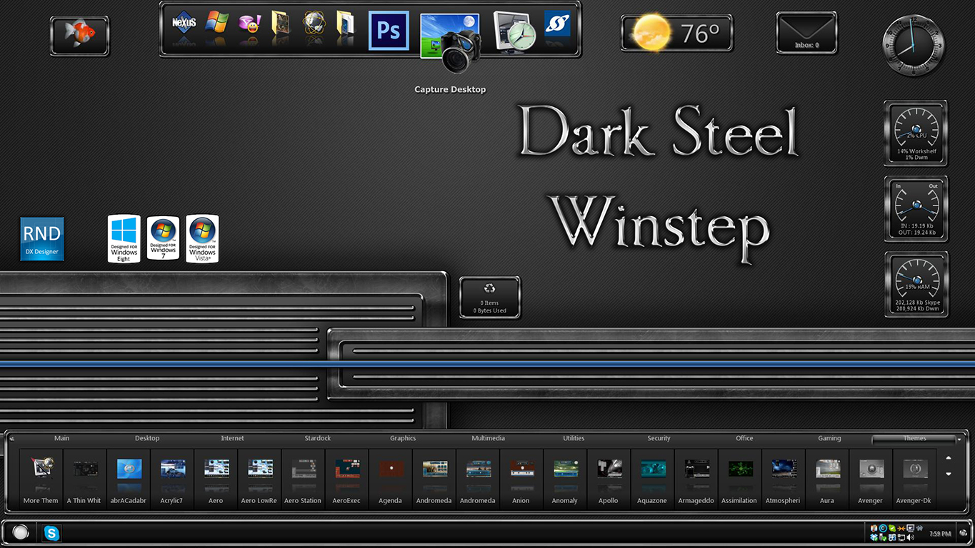 Dark Steel Winstep