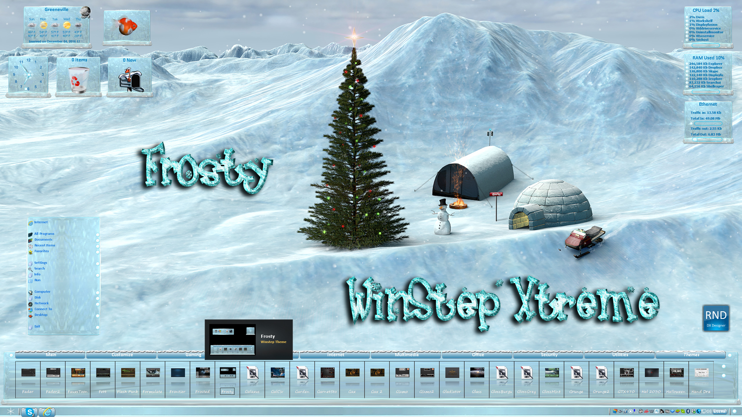 Frosty Winstep