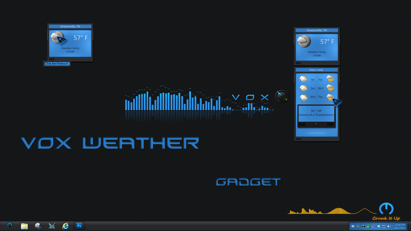 VOX Weather Gadget II