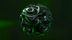 Green Sphere Morphing