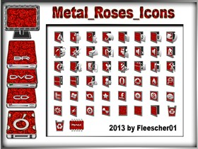 Metal_Roses_Icons