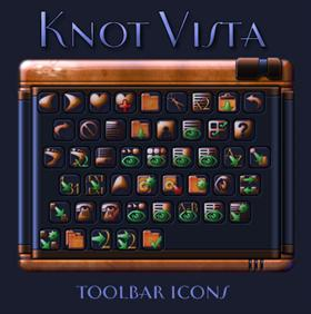 Knot Vista toolbar icons