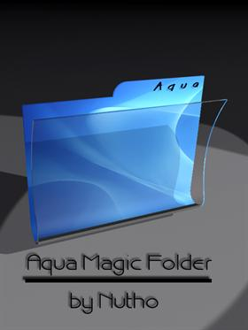 Aqua Magic Folder by nutho