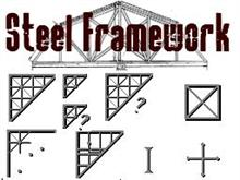 Steel Framework with SV