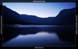 Bohinj Lake Evening