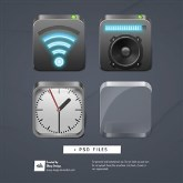 4 ObjectDock Icons